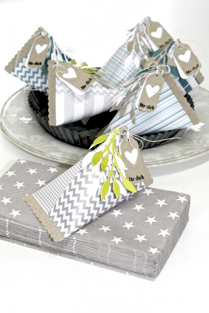 SIZZIX Triangle Gift Box 1