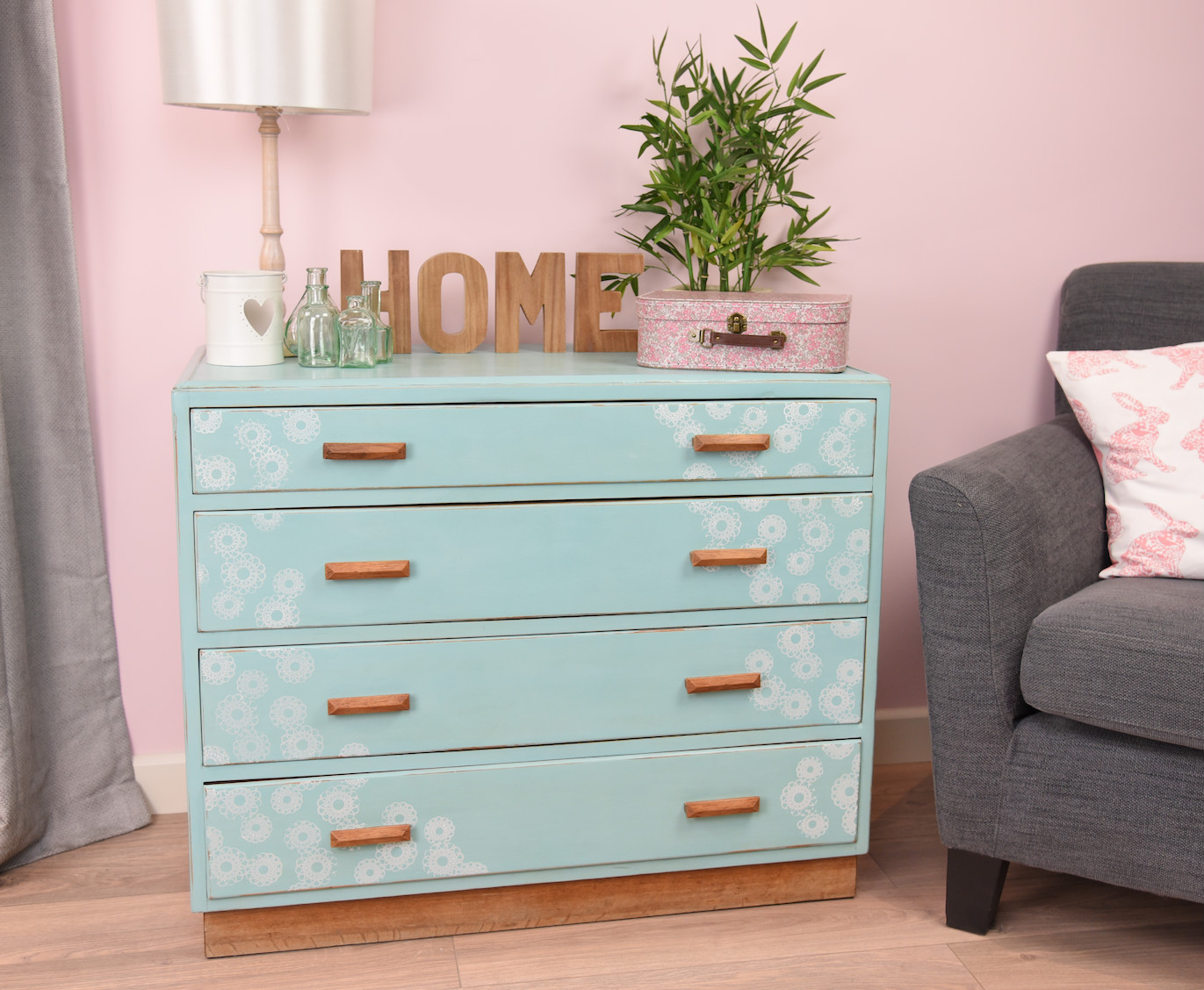 Upcycled-drawers