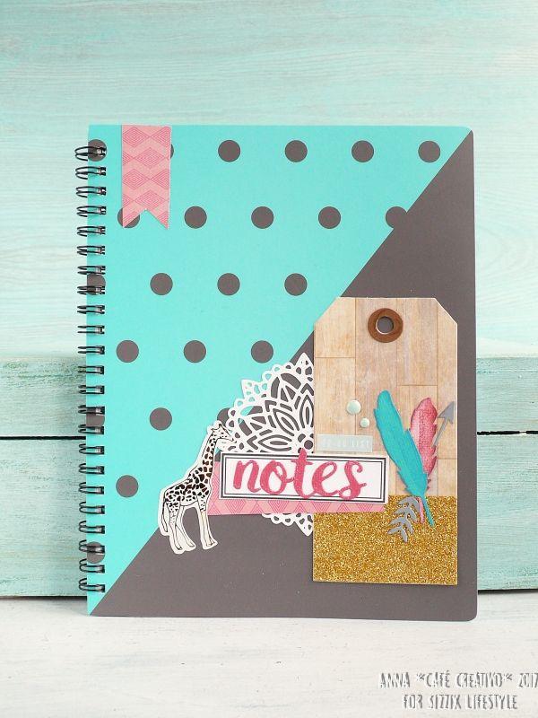 Boho Dreams Altered Notebook