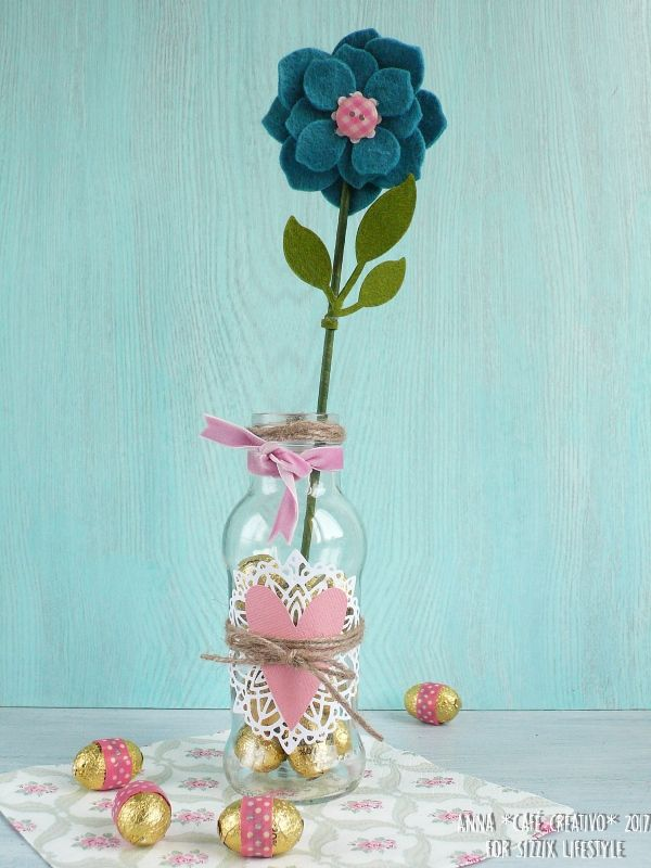 How to Make an Easter Home Decor using Asian Flower