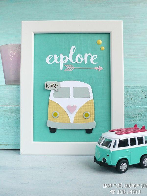 Travel Away frame art