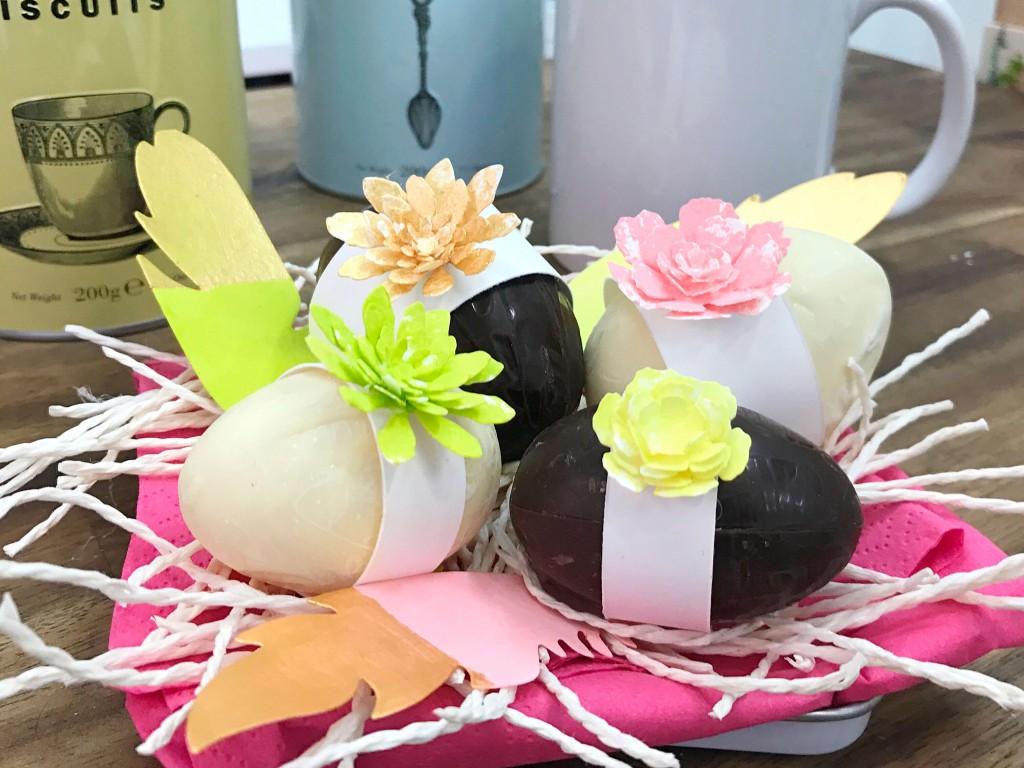 easter chocolate eggs diy