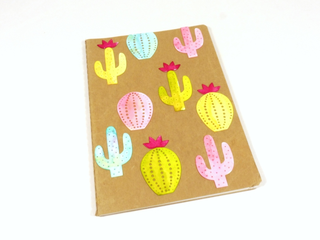 cacti notebook diy