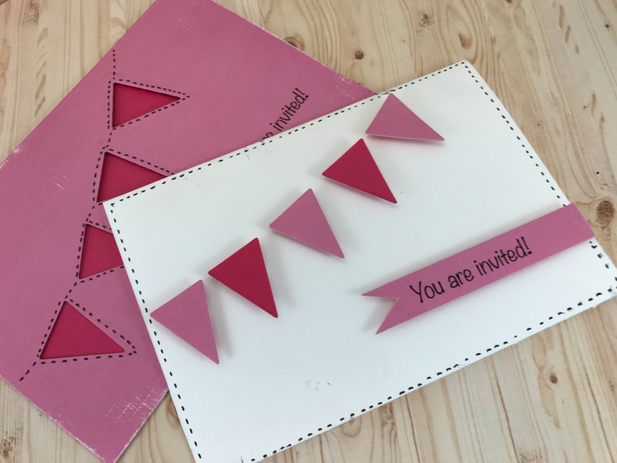 bunting_party_invitations
