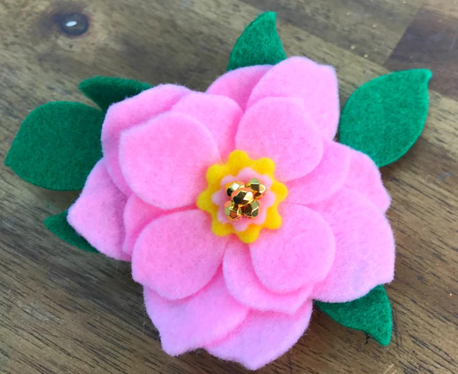 die_cut_felt_flower