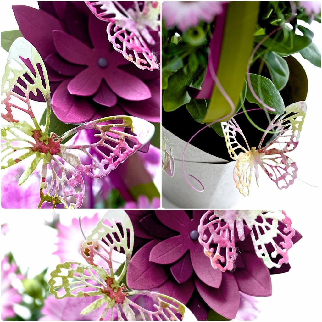 SIZZIX Flower Gift