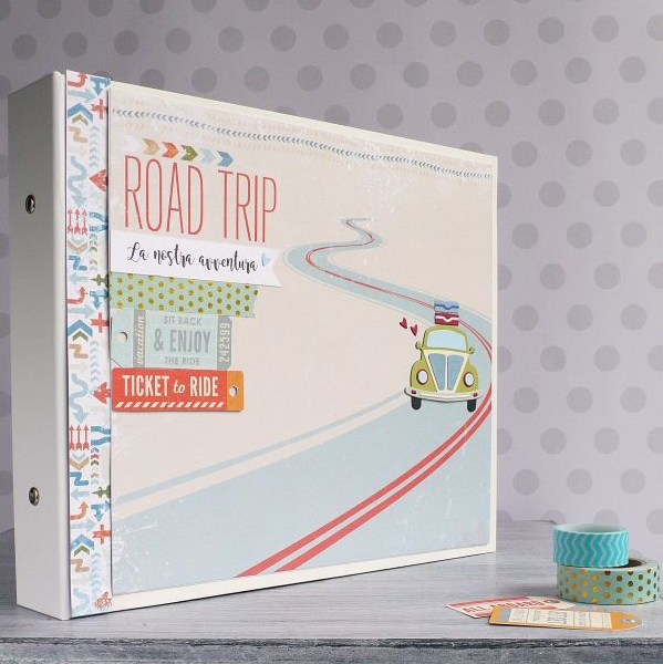 Mini Album Open Road with binder