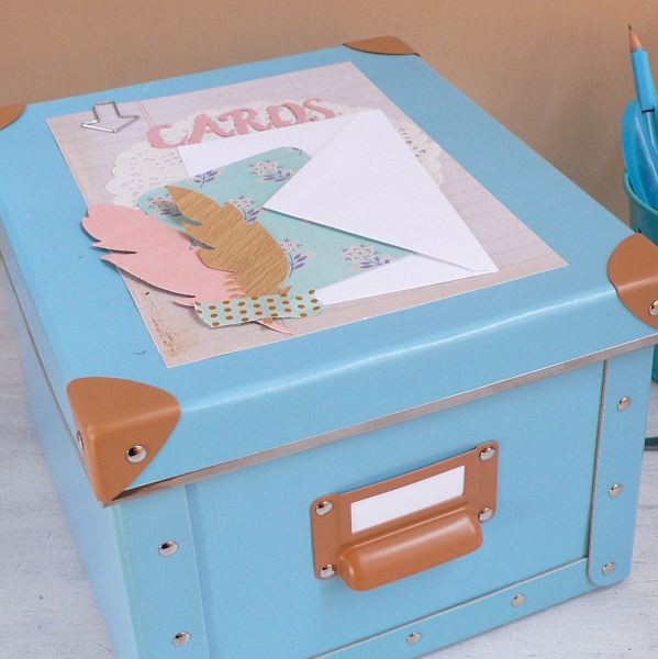 Box for storing greeting cards anna draicchio daily inspiration box for storing greeting cards m4hsunfo