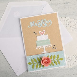How To Make a Wedding Card or Invitation + Video