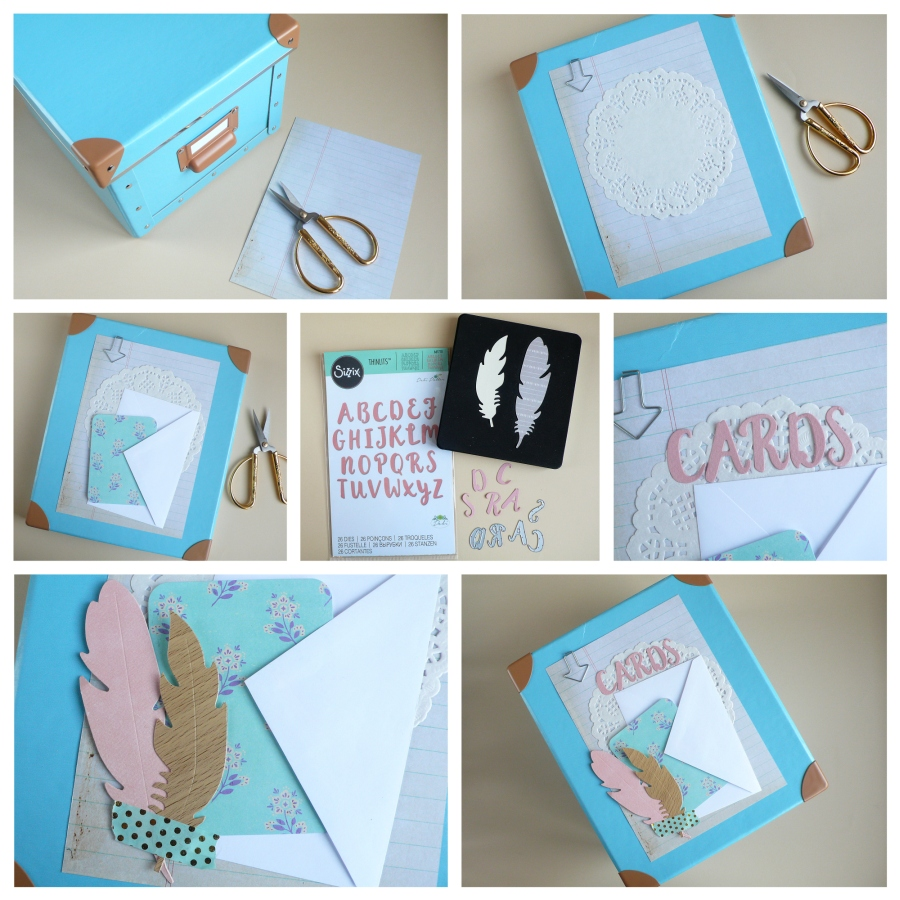 Box For Storing Greeting Cards Anna Draicchio Daily Inspiration