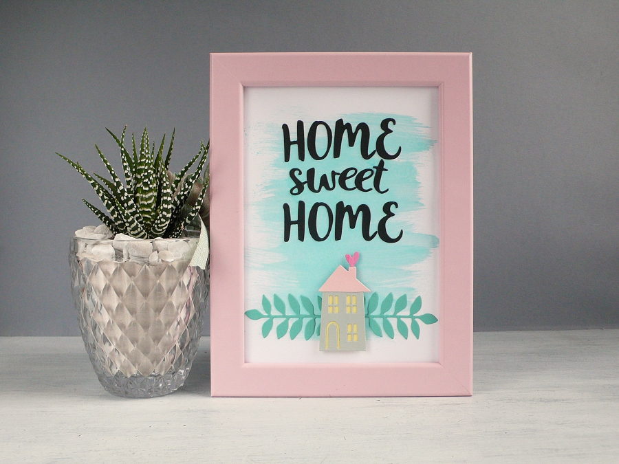 Home Sweet Home Frame Art Anna Draicchio Daily Inspiration From