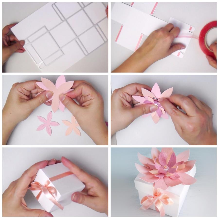 Moroccan Flower Box using Sizzix Big Shot Plus Starter Kit + Video
