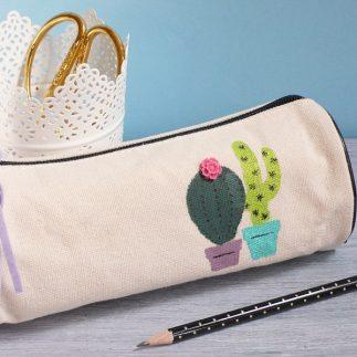 Fun Pencil Pouche with Cacti