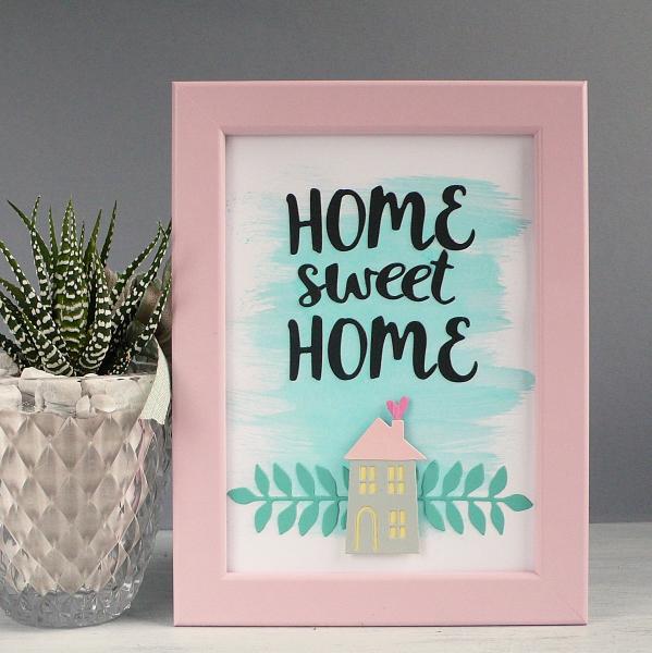 Home sweet Home frame art