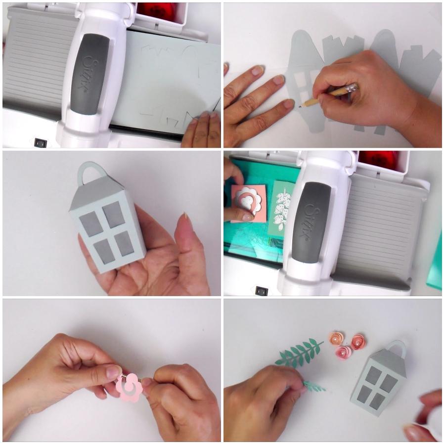 Paper Lantern Favour Box + Video