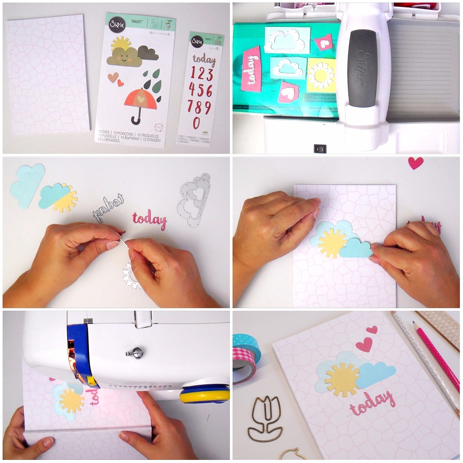 Back-to-School: DIY Custom Notebook + Video