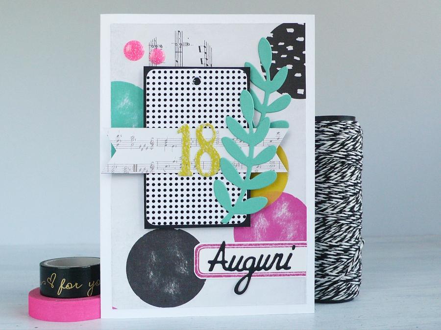 Handmade 18 Birthday Card Anna Draicchio Daily Inspiration From