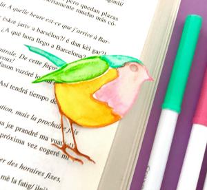Little Robin bookmark
