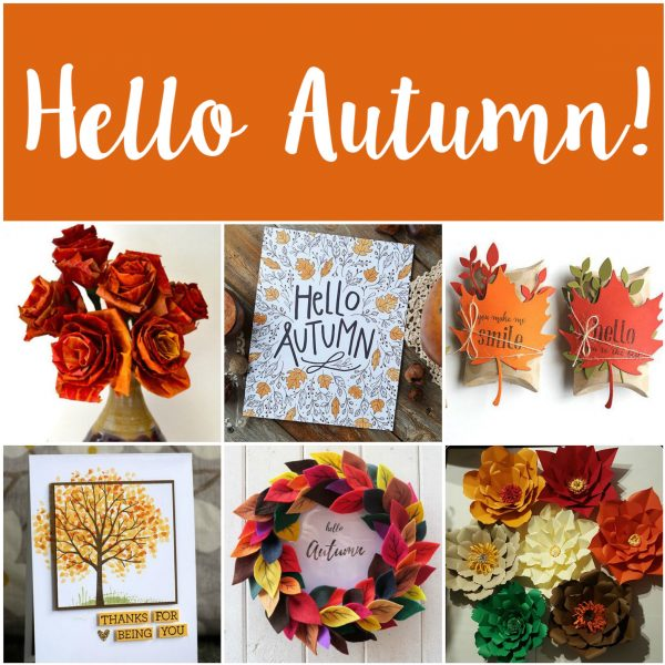 Our Top 5 Autumnal Craft Ideas Sizzix Lifestyle Daily