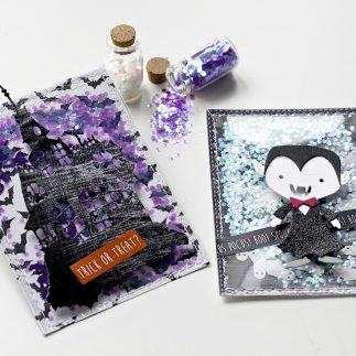 Halloween Shaker Cards