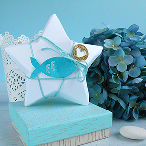 Favour Star Box for baby boy