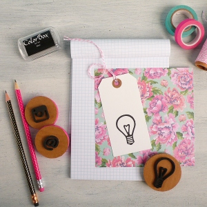 How to Make Foam Stamps using Thinlits Dies