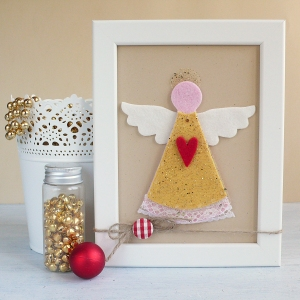 Christmas Angel Felted Decor