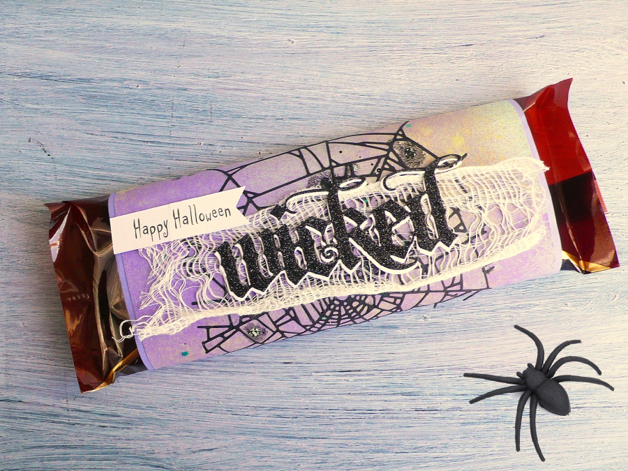 Halloween Party Chocolate Bar Wrap