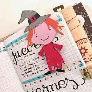 Witch bookmark for you planner
