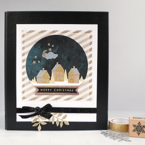 Christmas Planner with Snowglobe