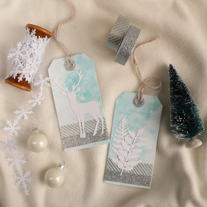 Handmade Winter Gift Tag in 15 minutes