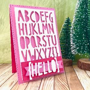 Hello card for the Winter Holidays season!