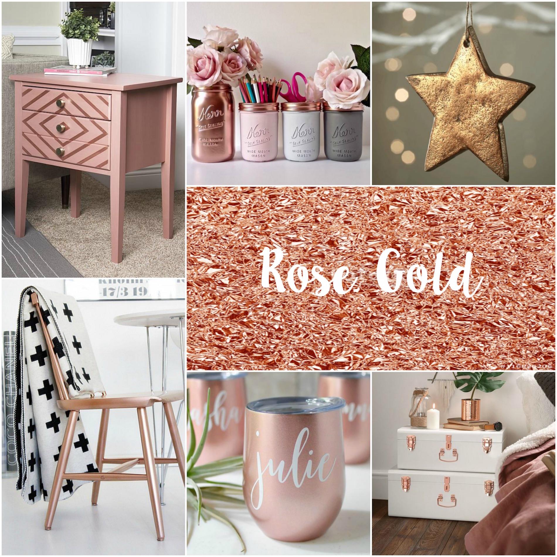 Rose Gold Inspiration!