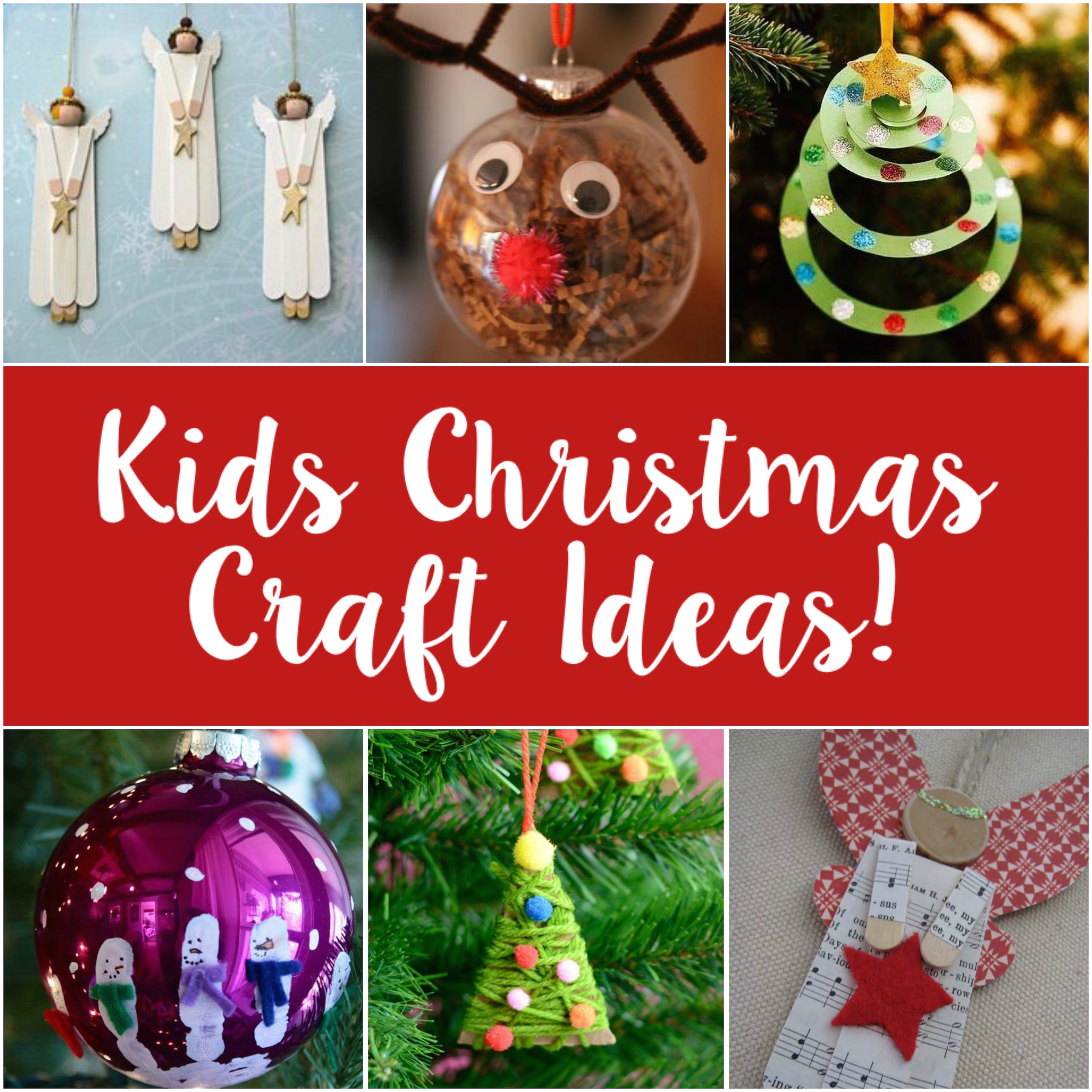 Our top 5 ideas for creating with kids this Christmas!