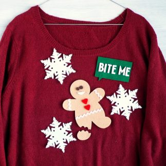 Handmade Christmas Jumper