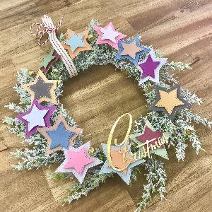 Star Christmas Wreath!