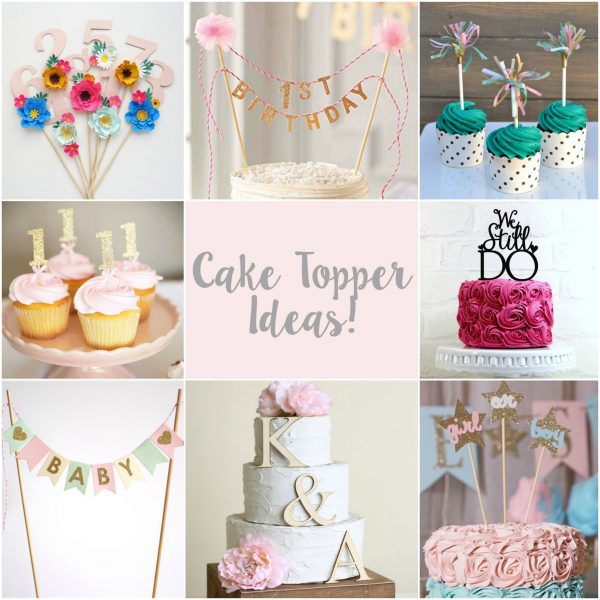 Incredible Top 5 Cake Toppers Sizzix Lifestyle Daily Inspiration From Funny Birthday Cards Online Elaedamsfinfo