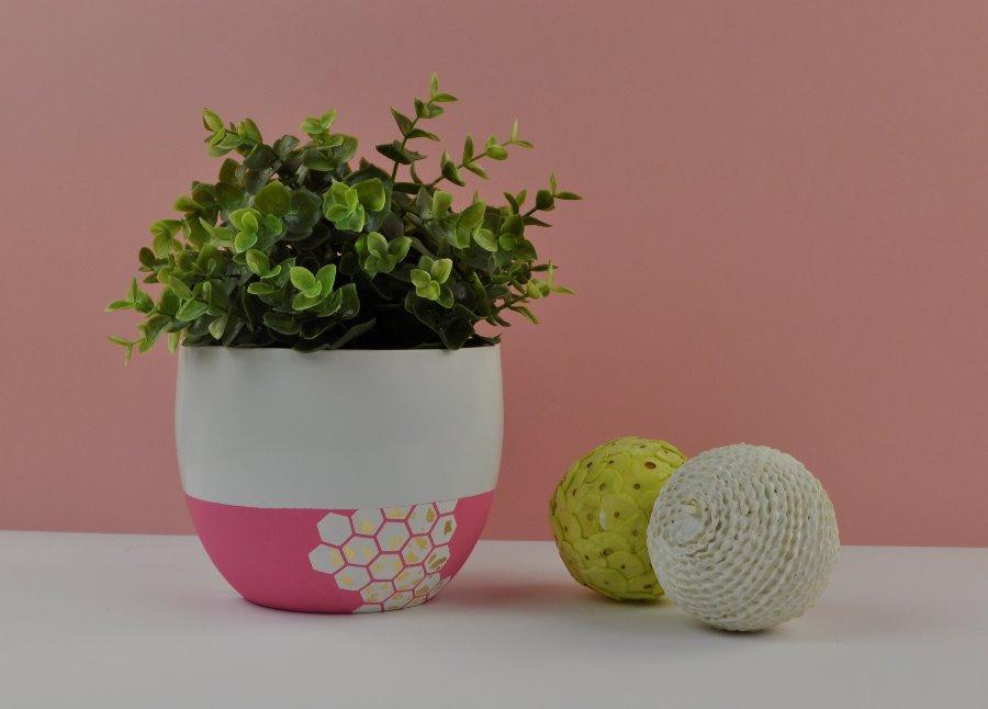 DIY Honeycomb Planter