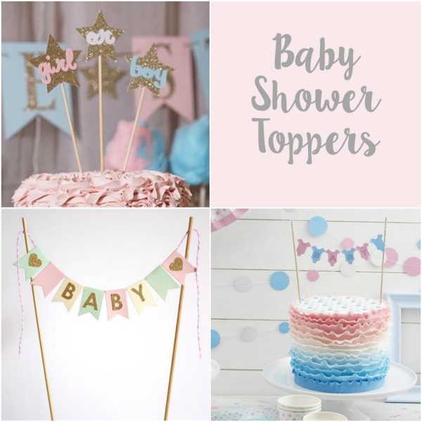 Uk Baby Shower Co: Top 5 Cake Toppers!