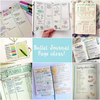 Top 5 ideas for starting a bullet journal!