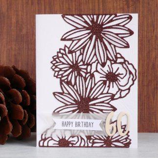 Handmade Elegant Birthday Card
