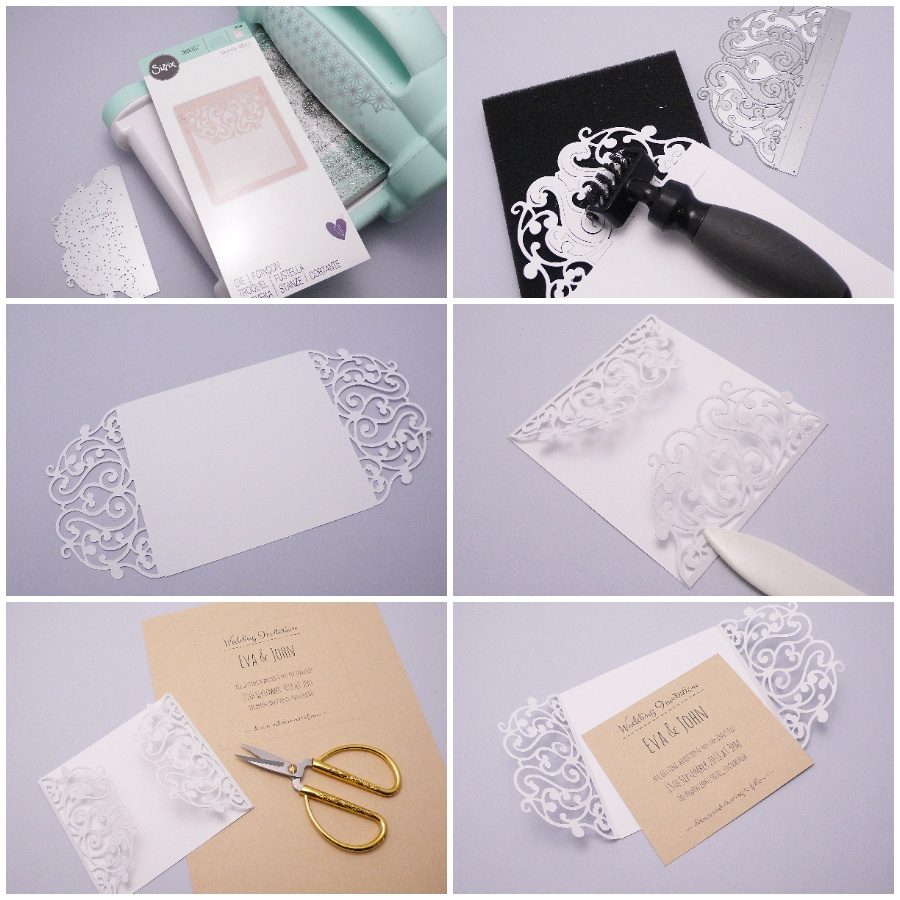 Handmade Lace Wedding Invitation | Daily inspiration from our bloggers