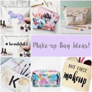 5 ideas for creating your own make-up bag!