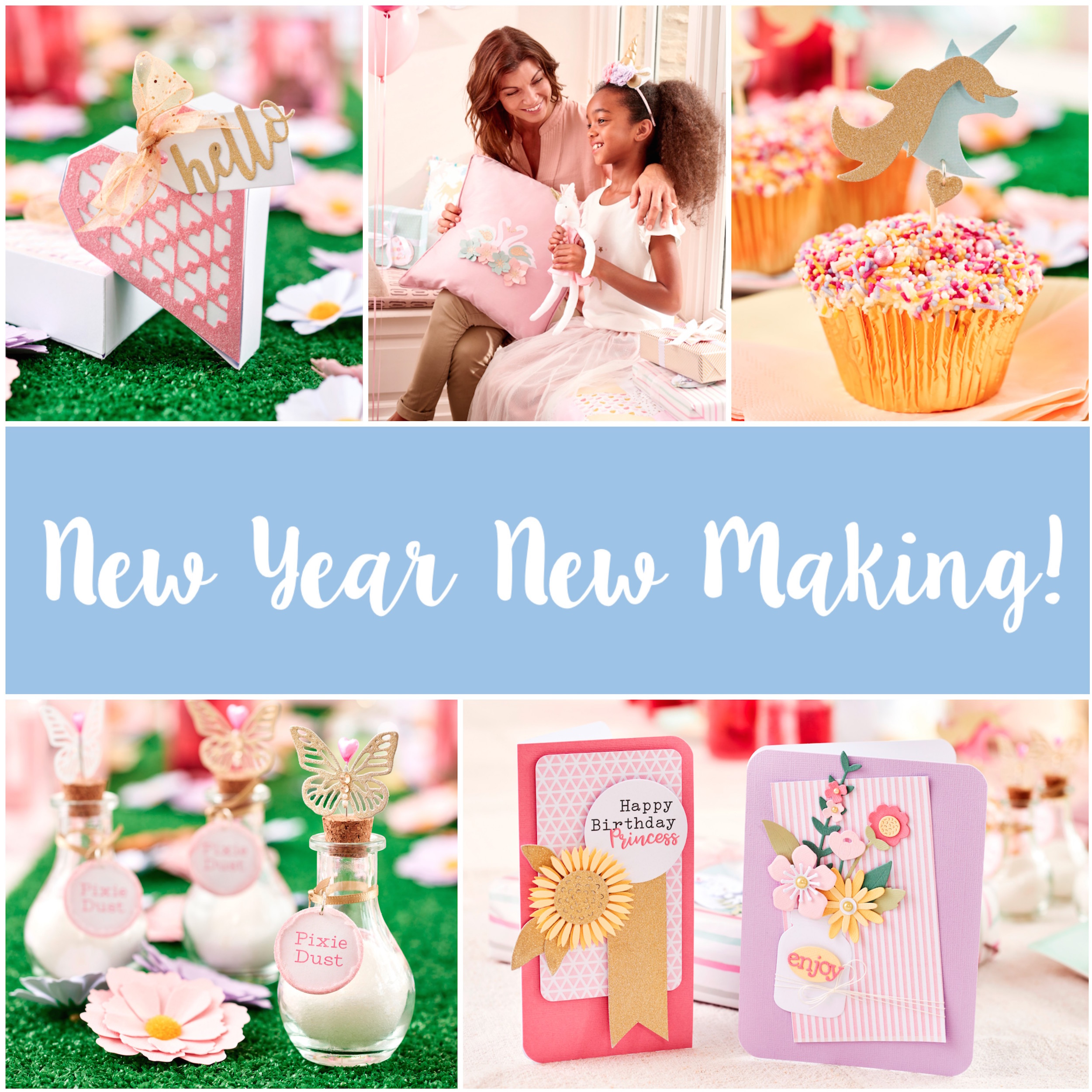 Reach your crafty goals with these New Year Resolutions!