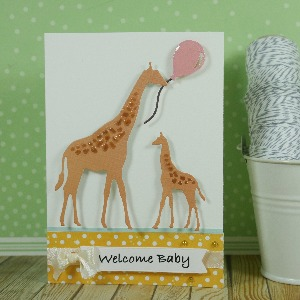 Welcome baby card!