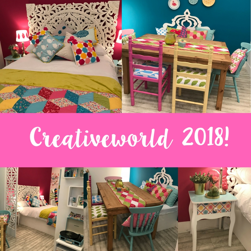 Behind the scenes of our 2018 Creativeworld Stand!