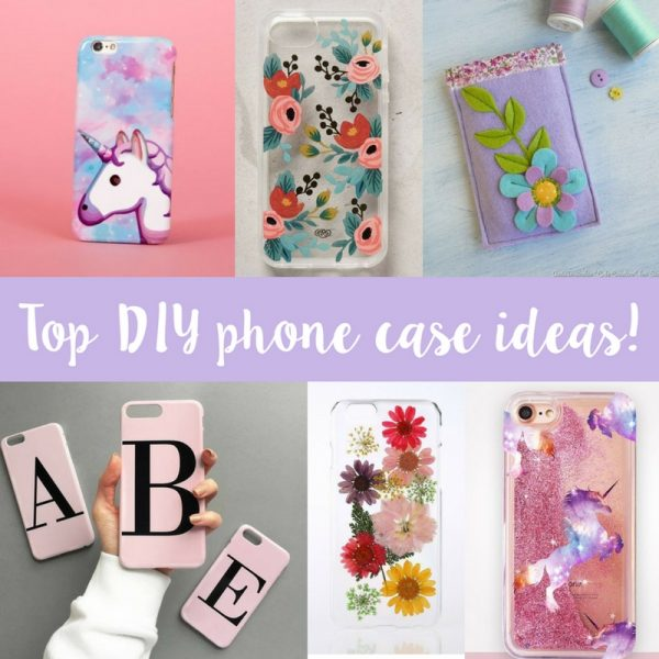 Diy Phone Case Decoration Ideas Sizzix Lifestyle Daily