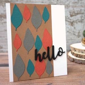 Forest hello card
