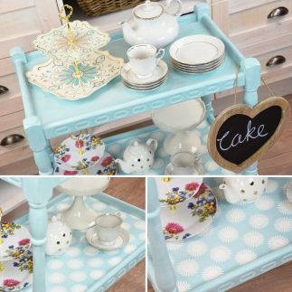 DIY Upcycled Tea Trolley