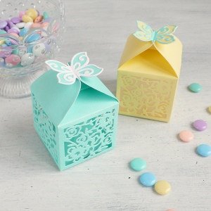Butterfly Favor Box using Thinlits Die by David Tutera + Video